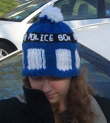 Me in my (re)TARDIS hat.