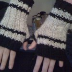 Black-n-White Mitts