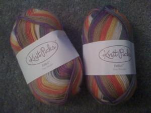 time Traveler sock yarn