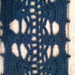 Luna Scarf #1: Stitch Detail