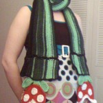 Me in the Piranha Plant Scarf.