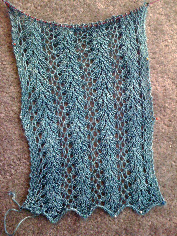 Strangling Vines Lace Scarf