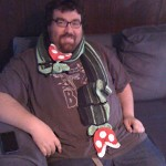 More Piranha Plant Scarf