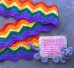 Nyancat Scarf!