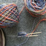 Winding Path Socks