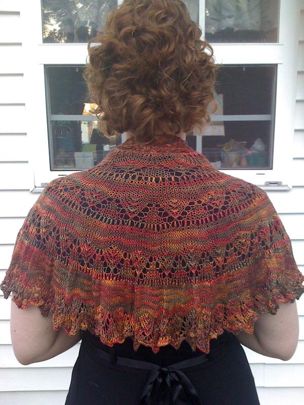 Chianti has a beautiful drape.