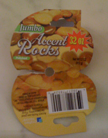 2 lbs of rocks!