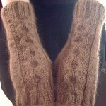 Bunny Loops Fingerless Mitts #2